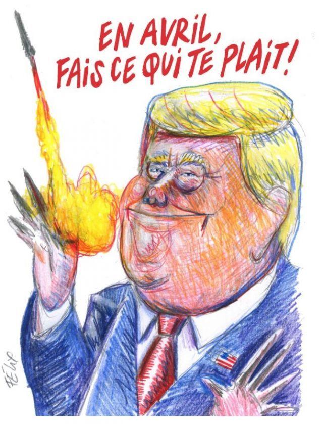 Charlie Hebdo высмеял Трампа…