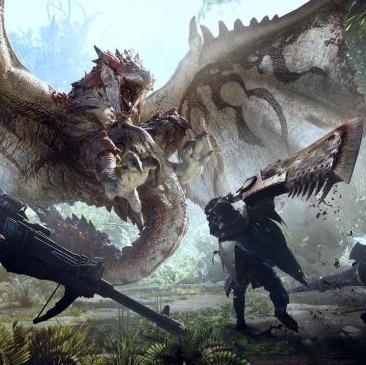 Пожирающих друг друга монстров в открытом мире показали в 20-минутной утечке геймплея Monster Hunter: World