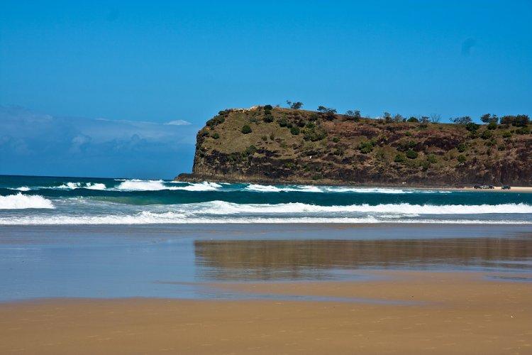 Самый большой в мире песчаный остров