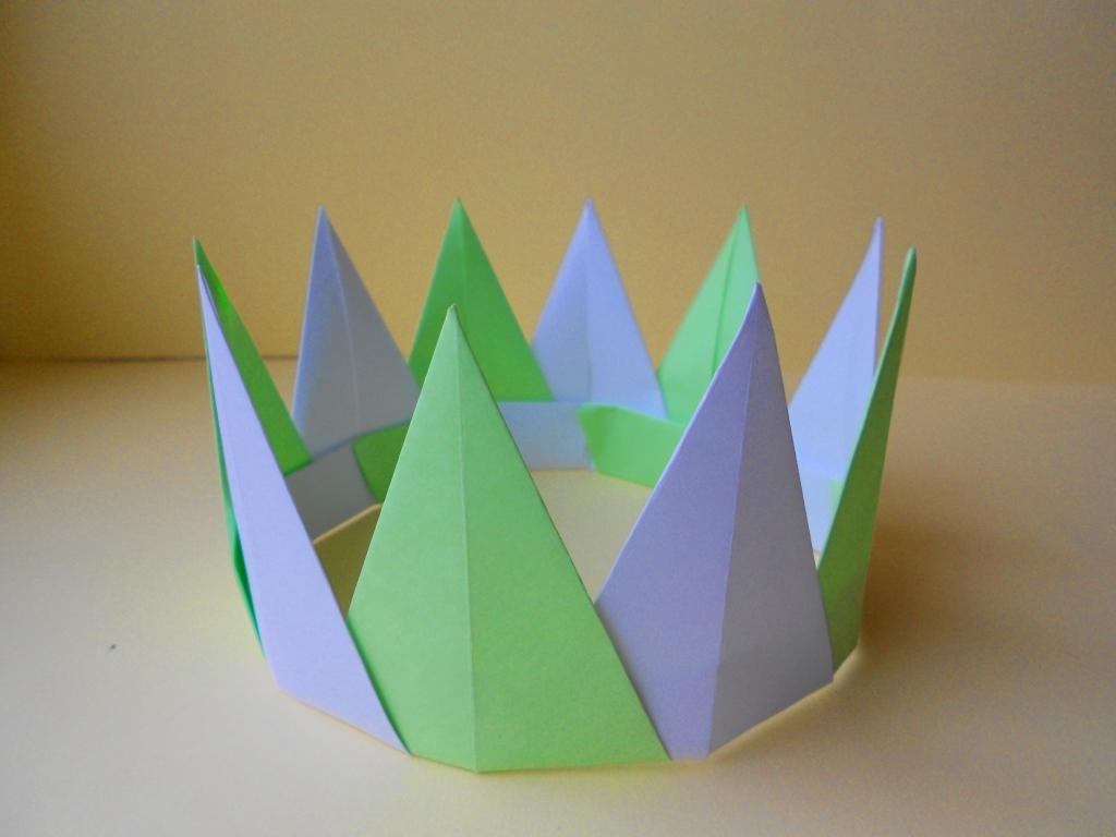 Оригами корона. Модульное ор…
