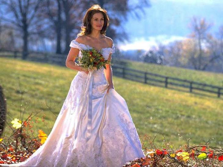 Кадр из фильма «Сбежавшая невеста»