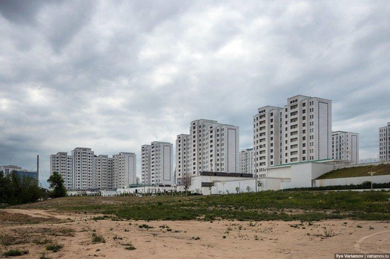 Туркменистан: обратная сторона луны Ашхабад, пыль в глаза, туркменистан