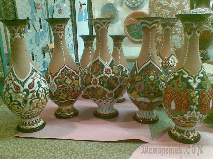 Керамика, декоративные блюда и вазы ручной работы