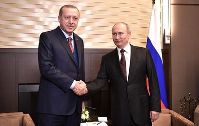 Путин и Эрдоган обсудили снятие оставшихся торговых ограничений