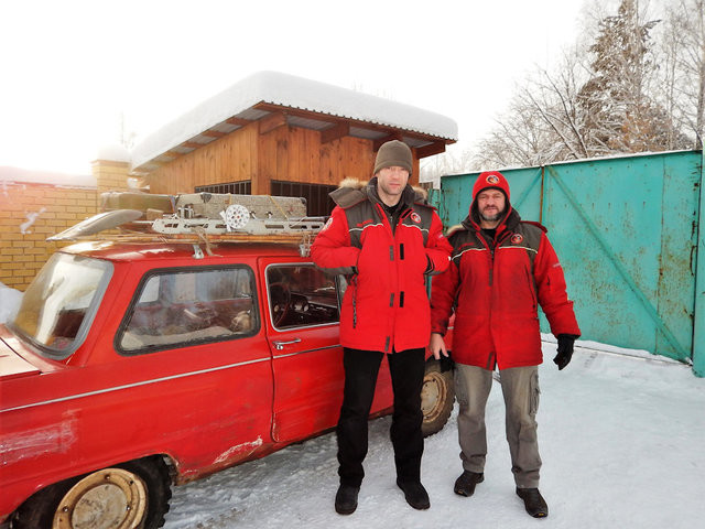По зимникам на Запорожце. 5000 км под девизом «Ни дня без поломки!»