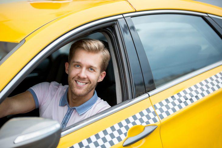 Форма водителя такси