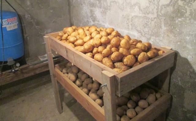 Как сделать закром для картошки 555