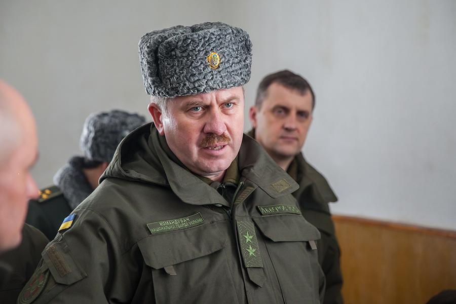 Нацгвардия готова к силовому варианту снятия блокады ЛНР и ДНР