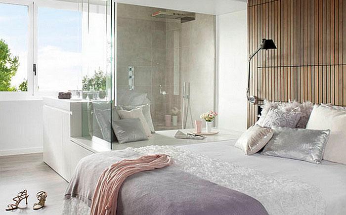 Модная современная спальня