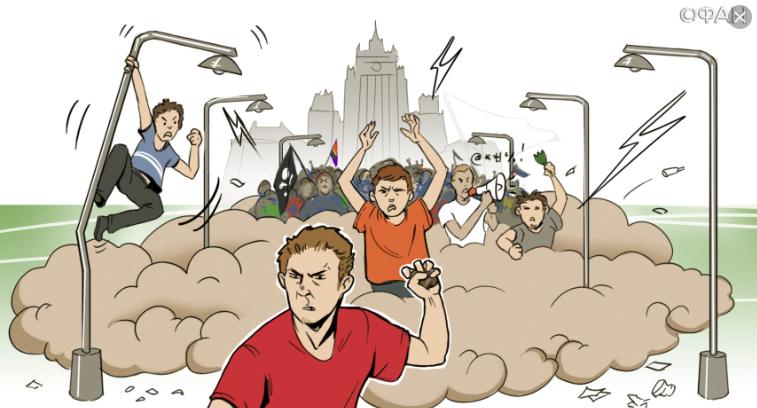 Лицо российского «протеста»: должник, лентяй, прокрастинатор