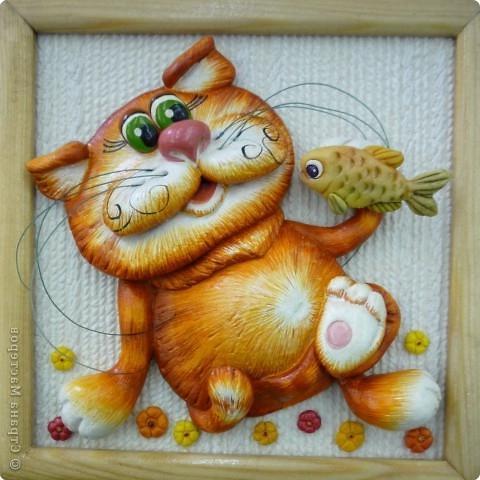 Поделки из кошек соленого теста 44