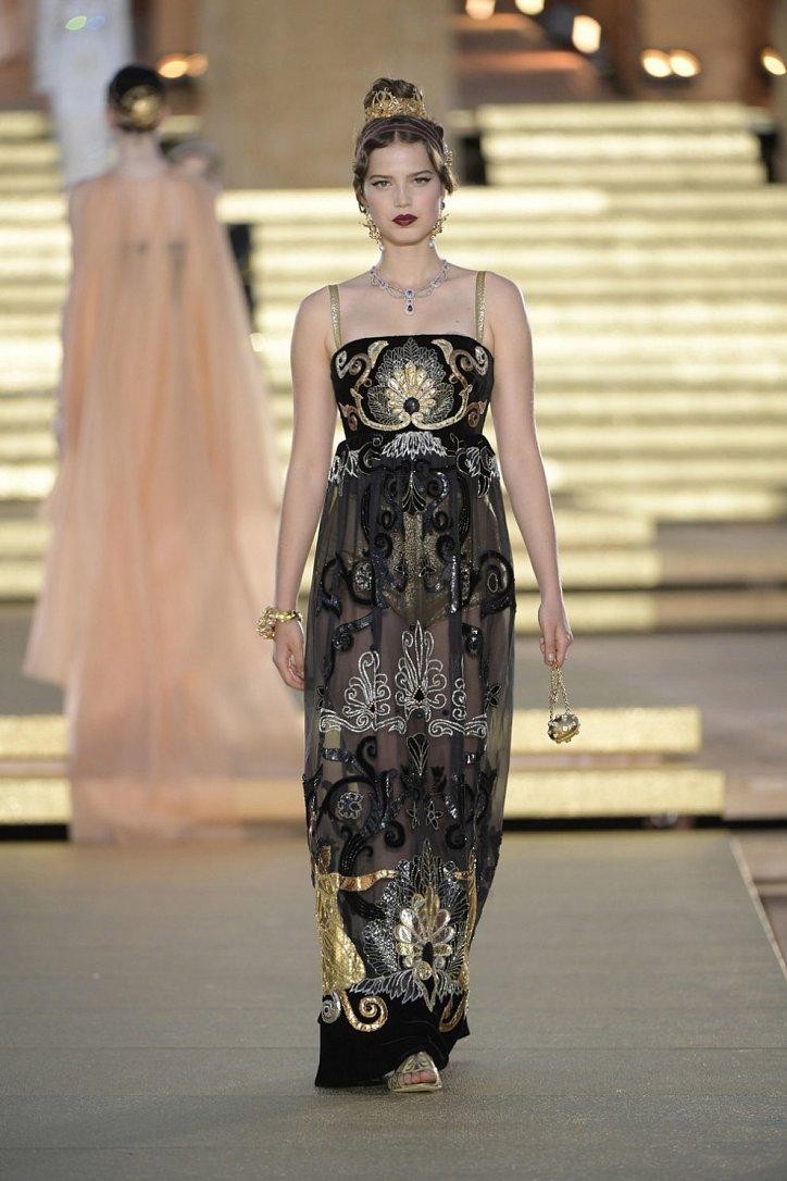 Кутюрная коллекция Dolce & Gabbana Alta Moda осень-зима 2019-2020