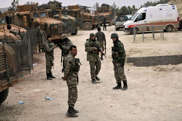 Турецкий военнослужащий погиб в сирийском Африне