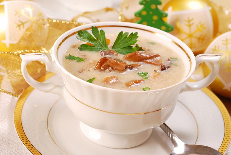 как приготовить грибной суп