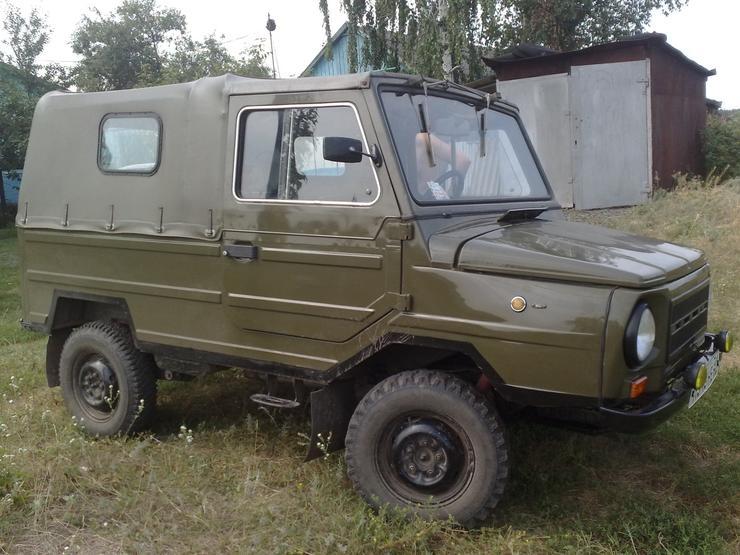 Лучшие внедорожники эпохи СССР ЛУАЗ-969