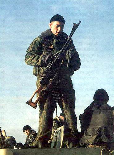 Морская пехота в Грозном
