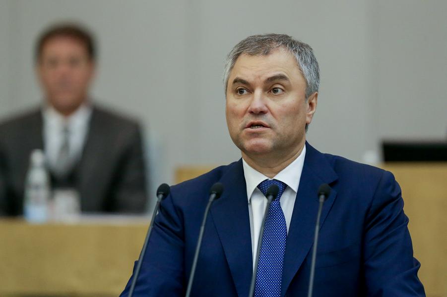 В России наметилось разделение властей? Володин поборолся за статус Госдумы