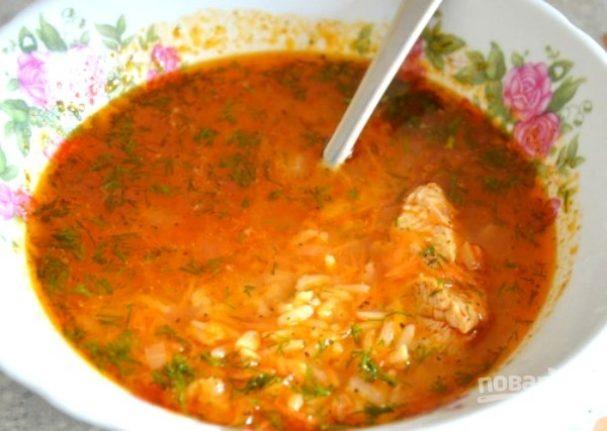 Простой суп «Харчо»
