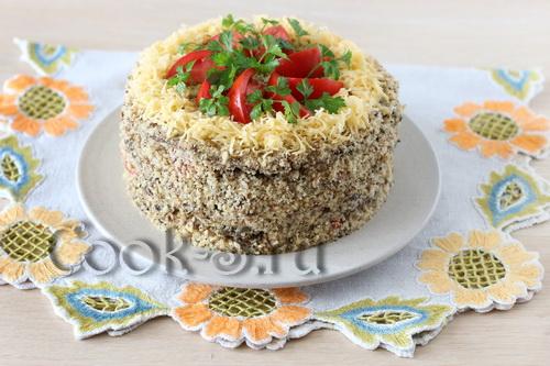торт из баклажанов фото рецепт