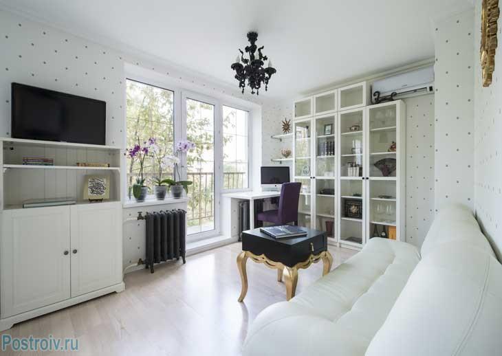 Из однушки — двухкомнатная квартира с отдельной спальней