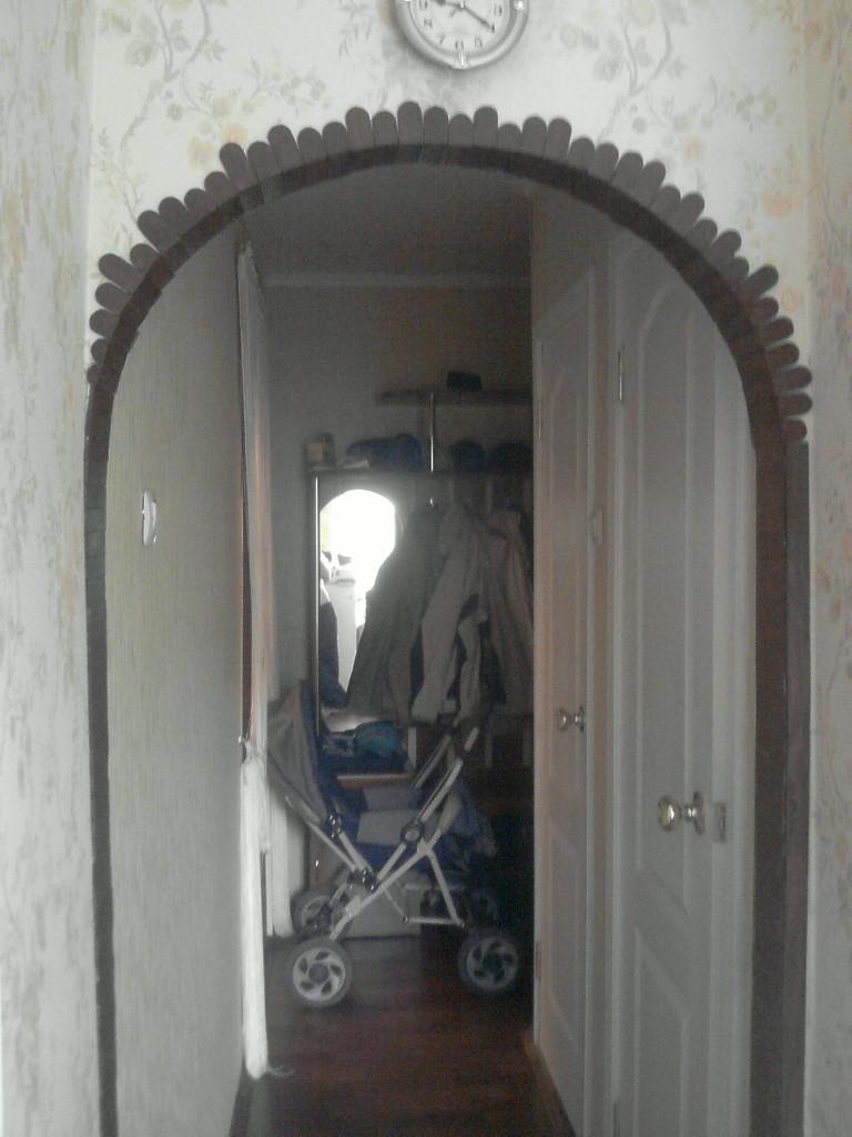 Оформление арок в квартире своими руками фото