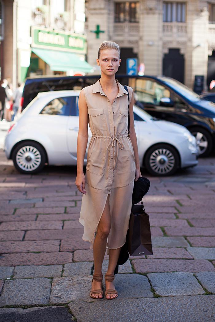 Платье-рубашка: и в пир, и в мир... Платье-рубашка - как носить, с чем сочетать
