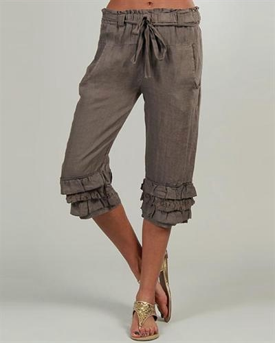 Lin-Nature-Ruffle-100-Linen-Capris-Made-in-Italy__01599569_Choco_3 (400x500, 37Kb)