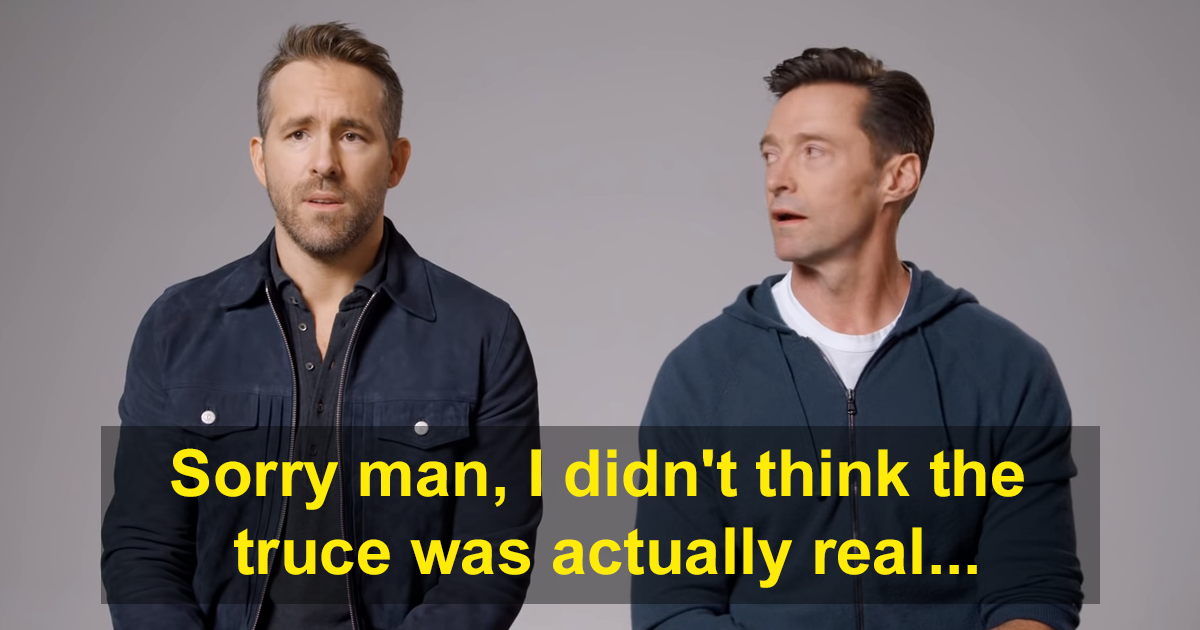 Hugh Jackman Breaks Truce With Ryan Reynolds By Creating A Brutal Ad For His Gin Company