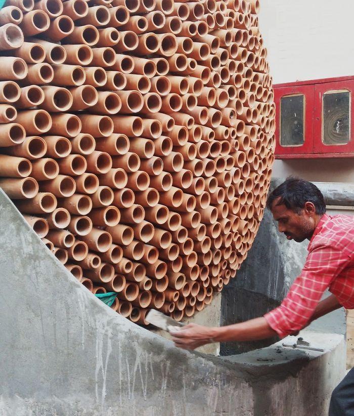 Индийские дизайнеры создали кондиционер, который работает без электричества