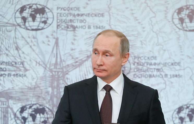 Путин сравнил свою работу с поведением морского ангела, поедающего морских чертей