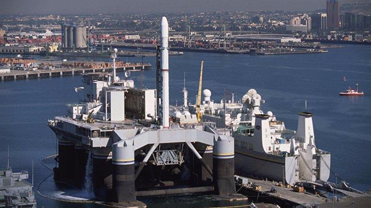 Владелец космодрома «Морской старт» получил лицензию на космическую деятельность