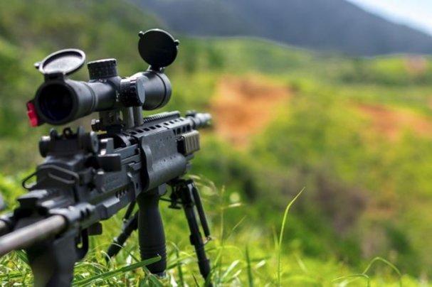 Девушка-снайпер Белозерская …