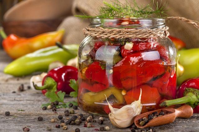 Интересная консервация болгарского перца