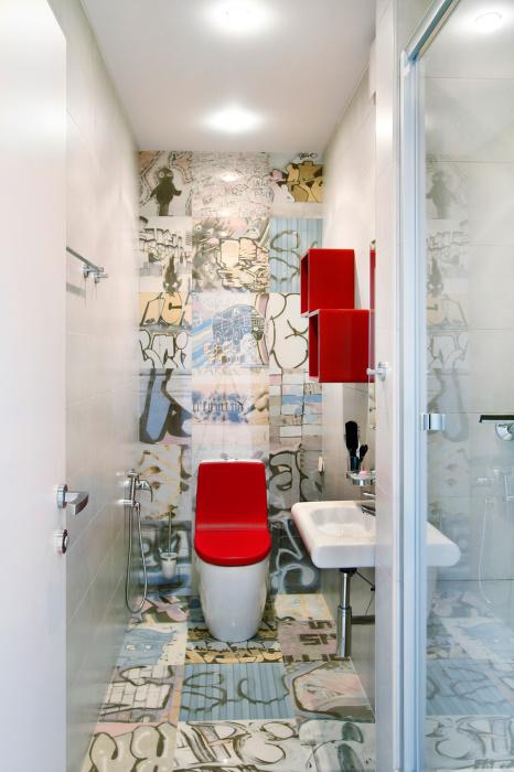 Дизайн маленького туалета идеи
