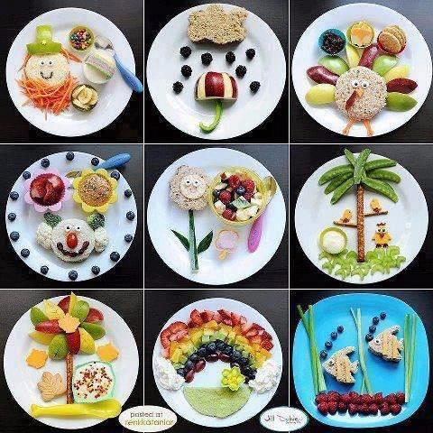 Интересная еда для детей