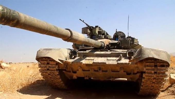 Единственный в Сирии Т-90К почти год сражается с террористами