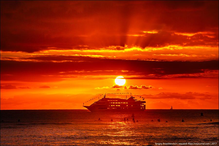 Еще один гавайский закат