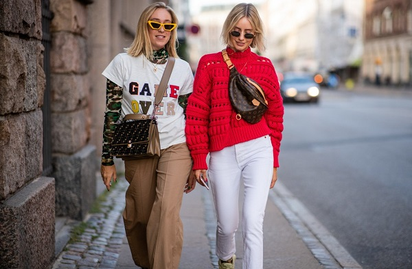 Уличная мода осень-зима 2019-2020