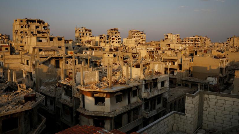 SANA: в результате бомбардировки США по САР погибло 17 гражданских