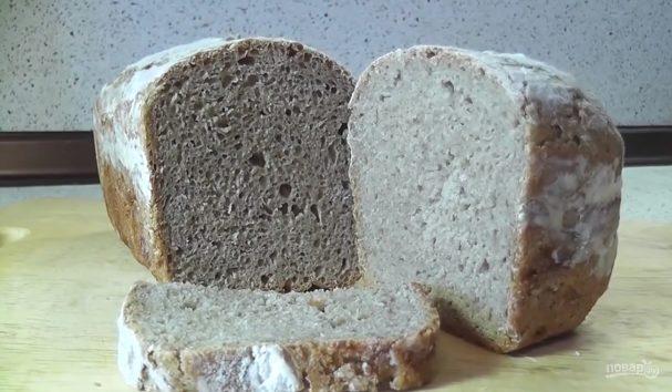 Ржаной хлеб без замеса