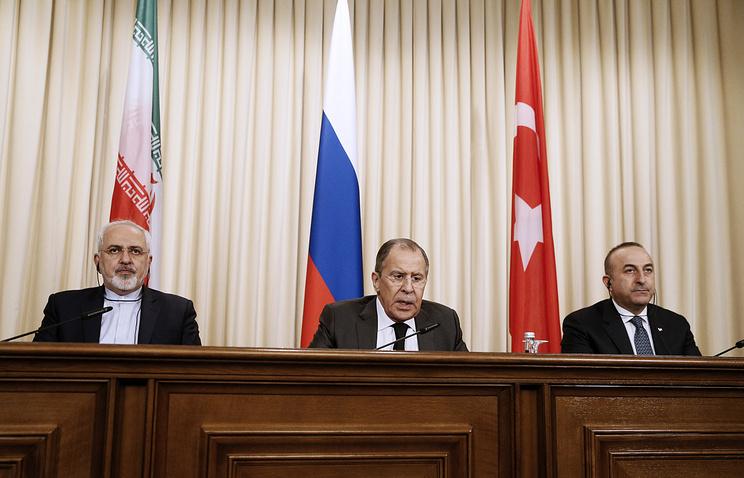 Россия, Иран и Турция согласовали совместное заявление по Сирии
