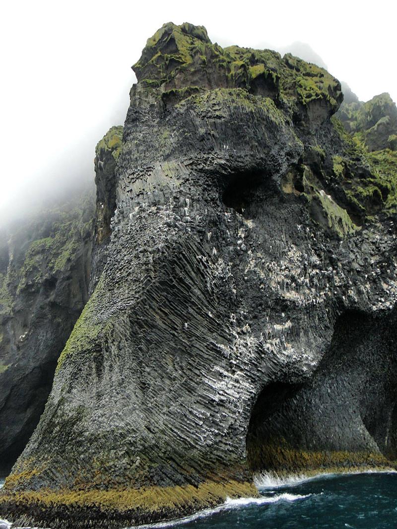 16. Слоновья скала, остров Хеймай виды, исландия, красота, фото