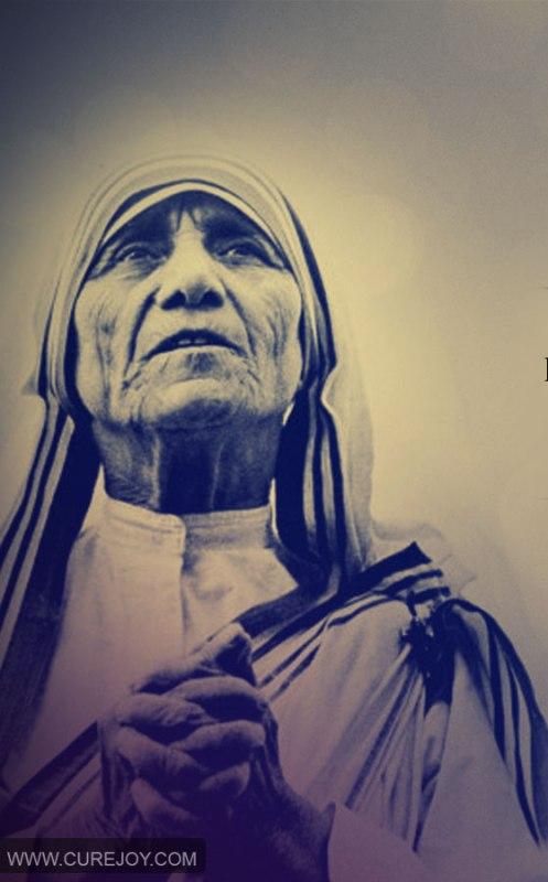 15 цитат Марии Терезы: подарите душе полет!