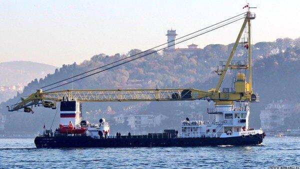Плавающий кран спас от бомбового голода «Адмирала Кузнецова»