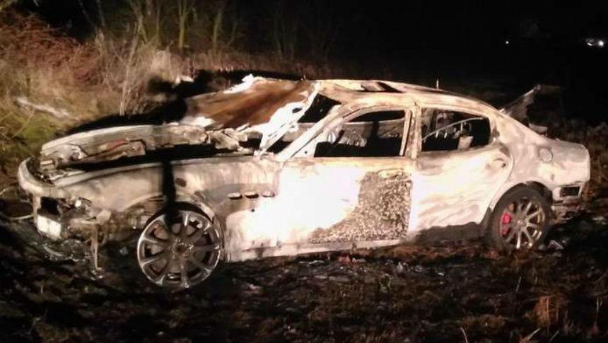 Эксперты разоблачили владельца сгоревшего на М1 Maserati Quattroporte