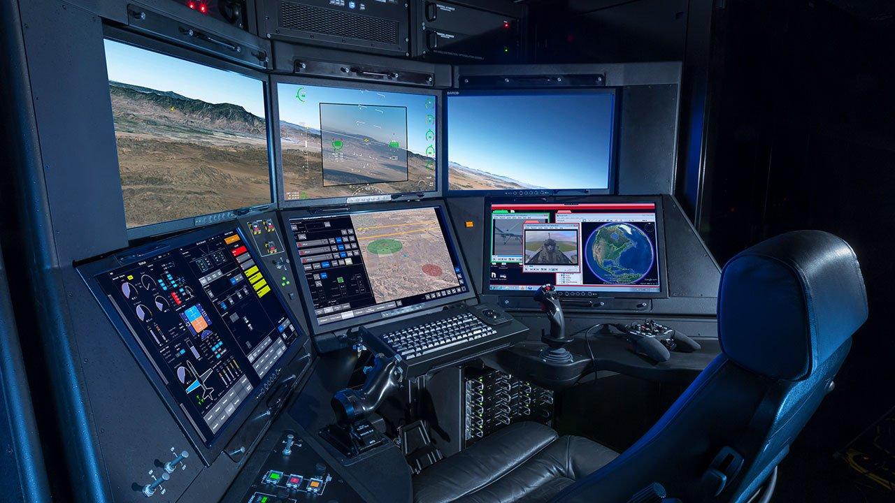 Новая наземная станция управления Block 50 GCS для беспилотных летательных аппаратов типа Reaper