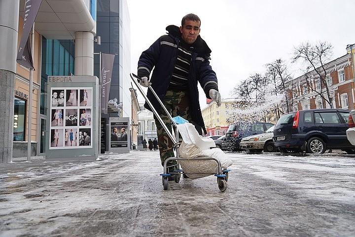 В Москве из-за гололедицы продлили «желтый» уровень опасности