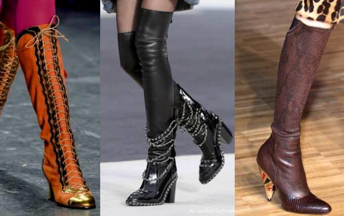 Зимние сапоги 2017: модные тенденции