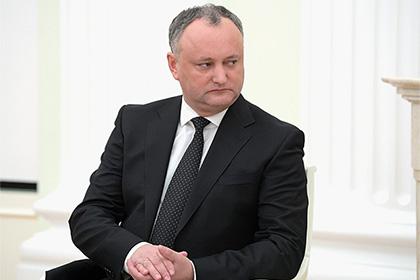 Президент Молдавии заявил о намерении аннулировать соглашение об ассоциации с ЕС