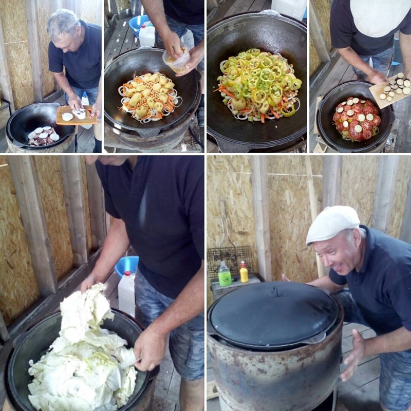 Повелитель казанов! готовка, еда, мужчины, на кухне, умелые руки
